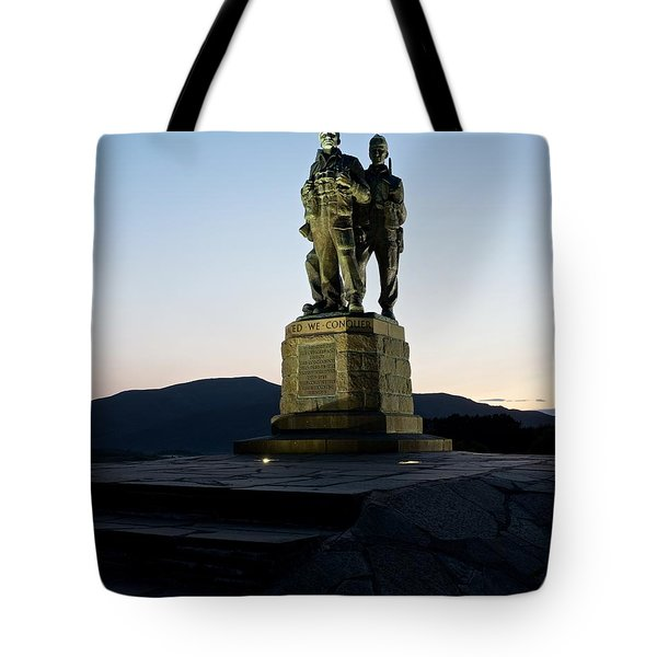 The Commando Memorial Tote Bag