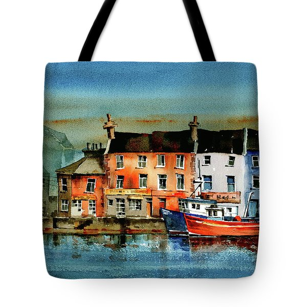 The Commercial Docks, Galway Citie Tote Bag