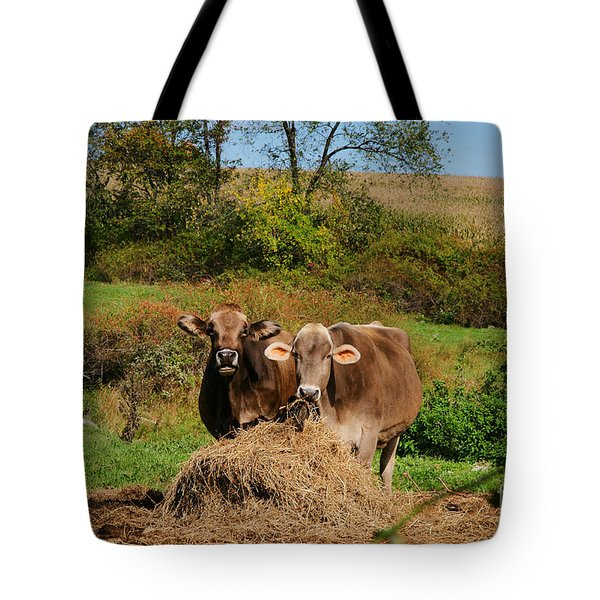 The Company Of 2 Tote Bag