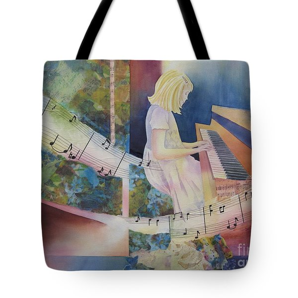 The Composition Tote Bag by Deborah Ronglien