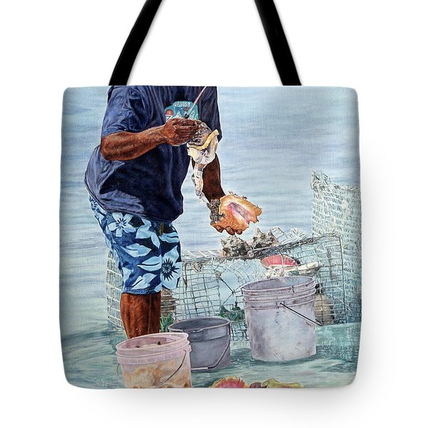 The Conch Man Tote Bag
