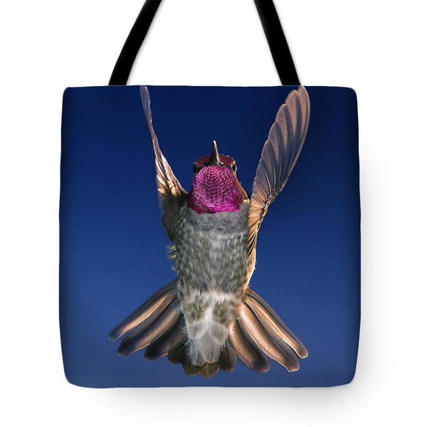 The Conductor Of Hummer Air Orchestra Tote Bag