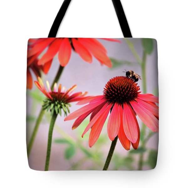 The Coneflower Collection Tote Bag