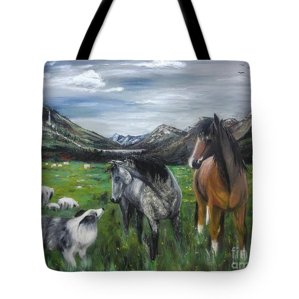 The Conversation 2 Tote Bag