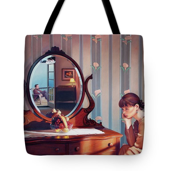 The Conversation Tote Bag by Patrick Anthony Pierson