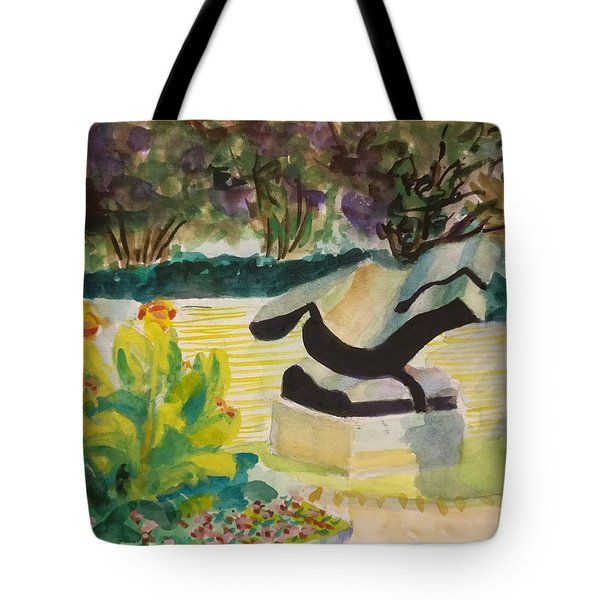 The Corinthian Garden Tote Bag