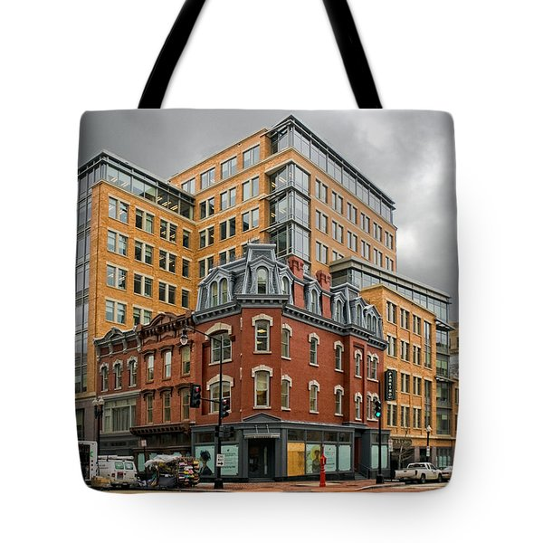 The Corner Tote Bag by Christopher Holmes