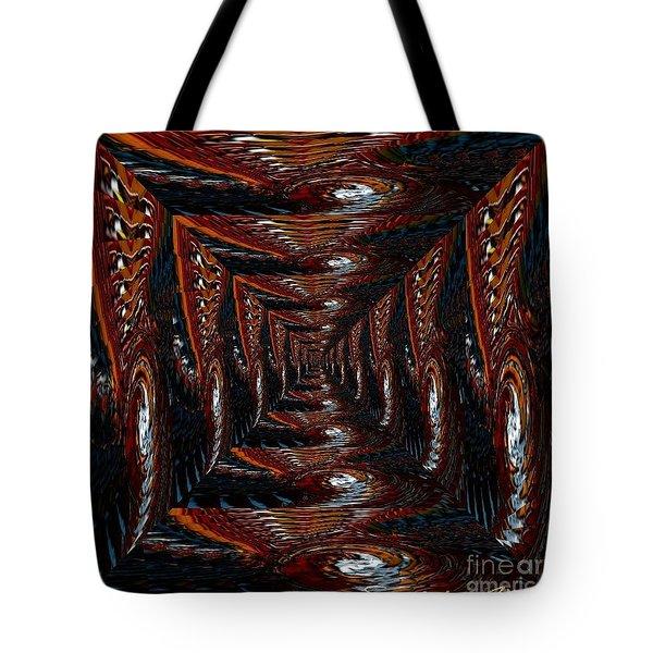 The Corridor To Slip In Tote Bag