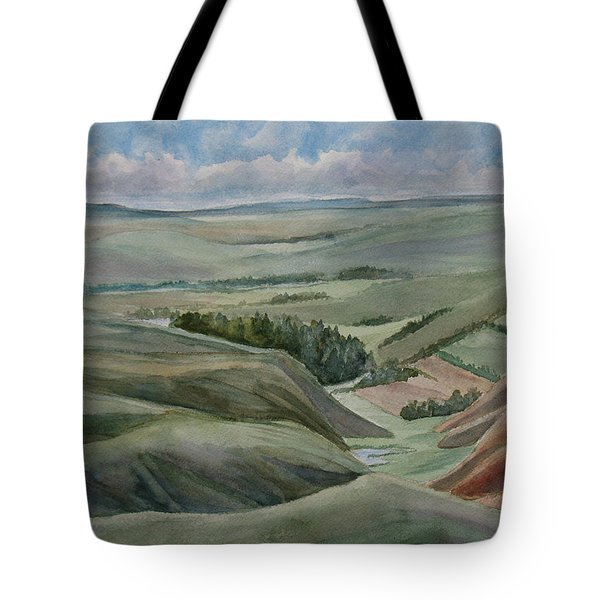 The Corrugated Plain Tote Bag by Jenny Armitage