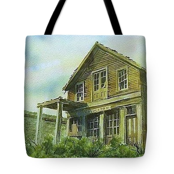 The Cosmopolitan Belmont Ghost Town Nevada Tote Bag by Kevin Heaney