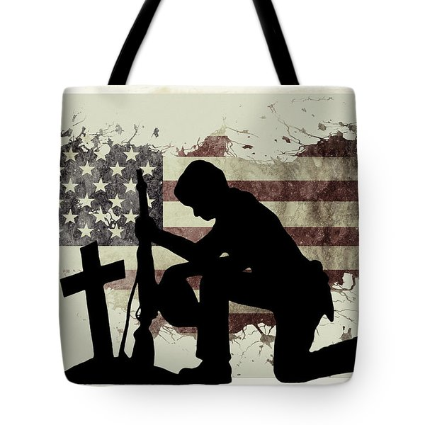 The Cost Of Freedom Tote Bag