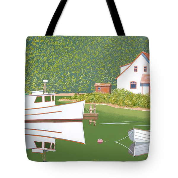 The Cottsge At Blackberry Point Tote Bag