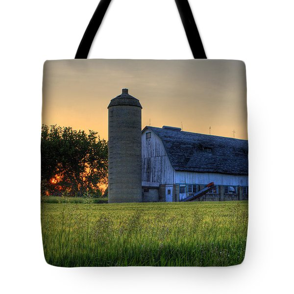 The Country Sunset Tote Bag