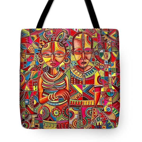 The Couple Tote Bag