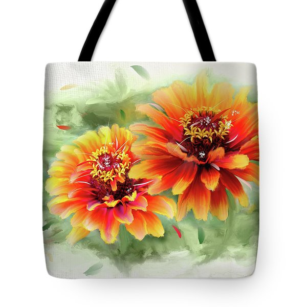 The Couple Tote Bag by Mary Timman