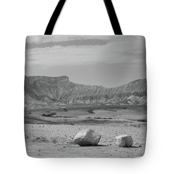 the couple of stones in the desert II Tote Bag