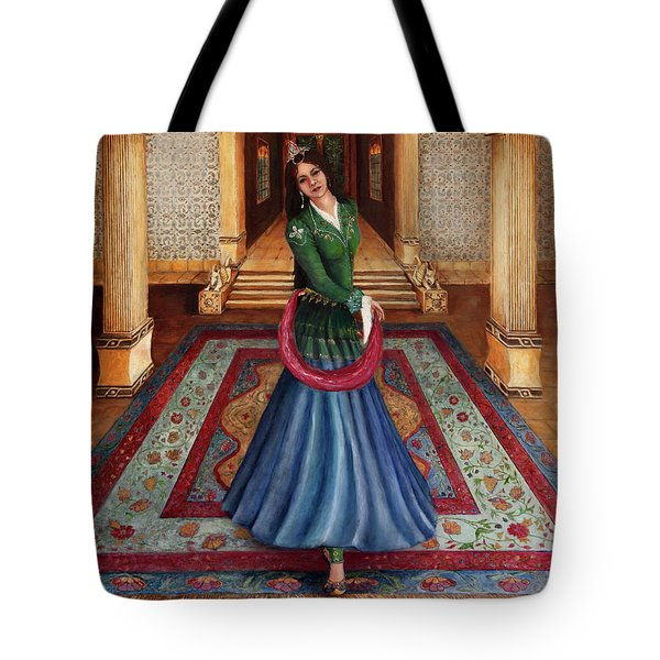 The Court Dancer Tote Bag