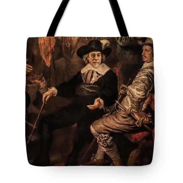 The Court Debate Tote Bag
