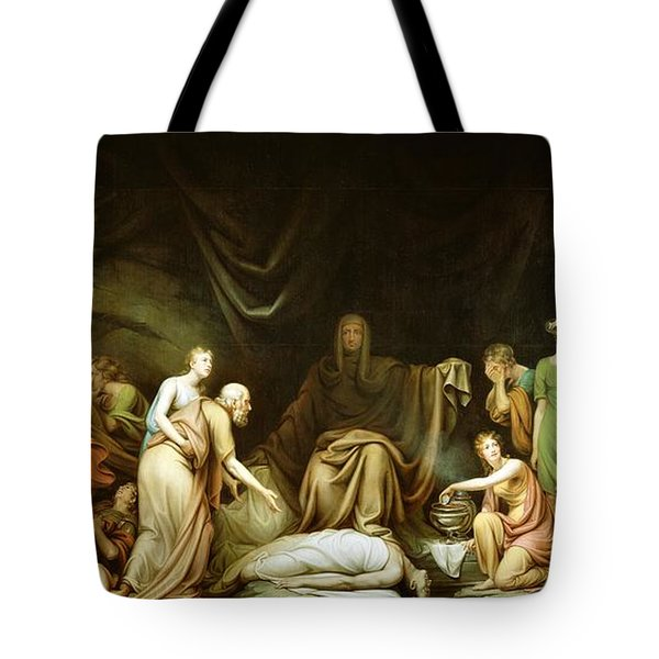 The Court Of Death Tote Bag by Rembrandt Peale