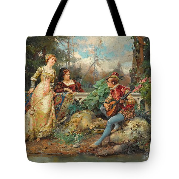 The Court Singer Tote Bag