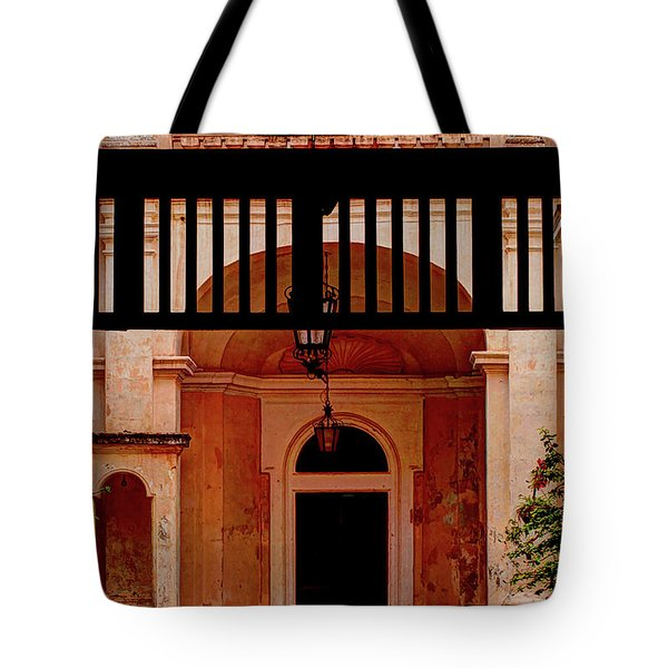 The Court Yard Malta Tote Bag