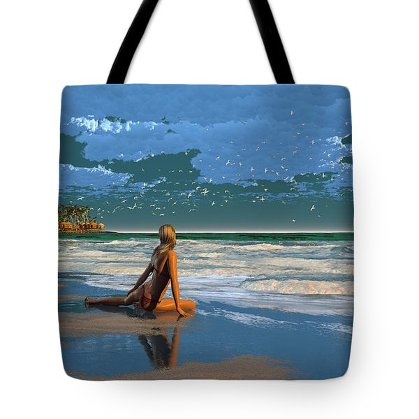 The Courtship Of Sand Tote Bag