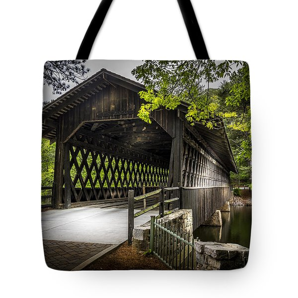 The Coverd Bridge Tote Bag