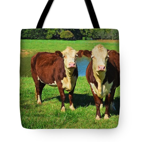 The Cow Girls Tote Bag
