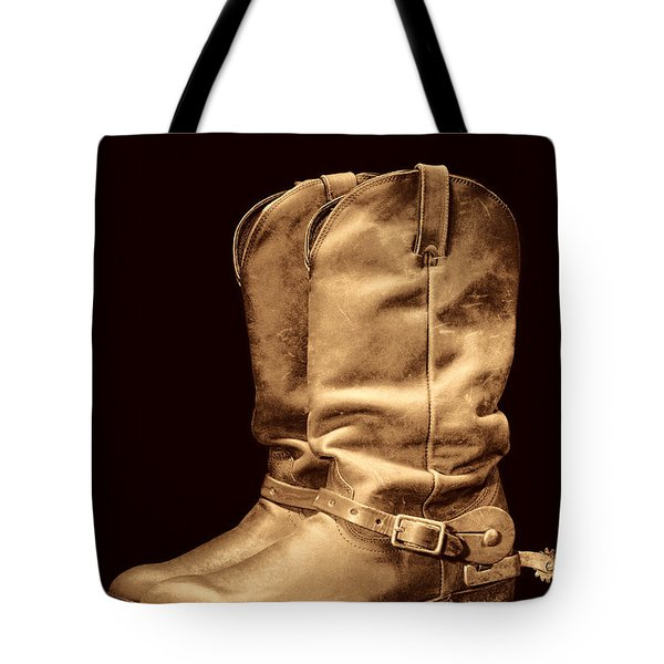 The Cowboy Boots Tote Bag