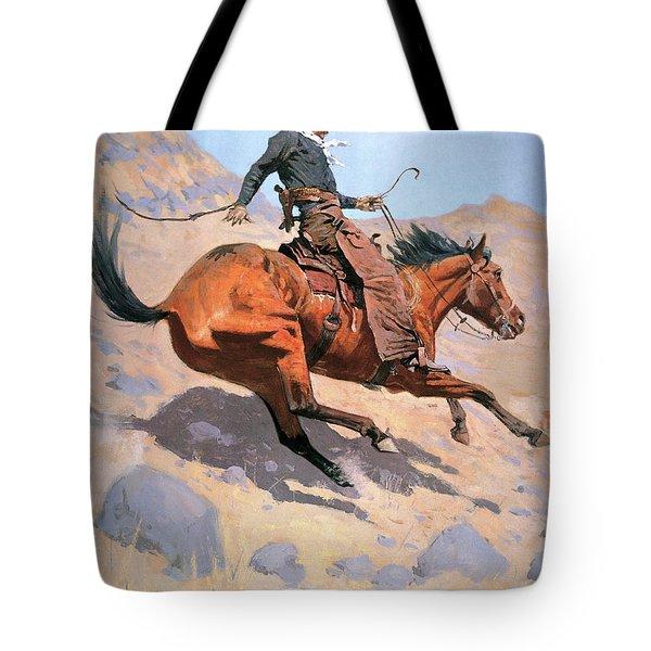 The Cowboy Tote Bag