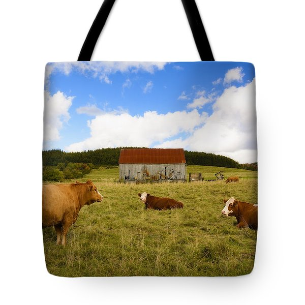 The Cows Of Mabou Tote Bag