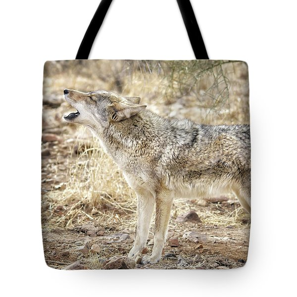 The Coyote Howl Tote Bag