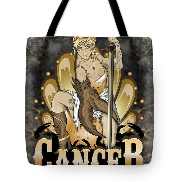 The Crab Cancer Spirit Tote Bag