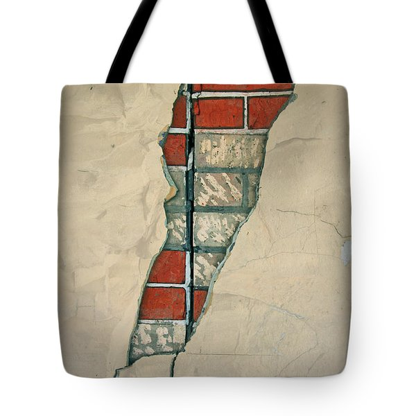 The Cracked Wall Tote Bag by Nareeta Martin