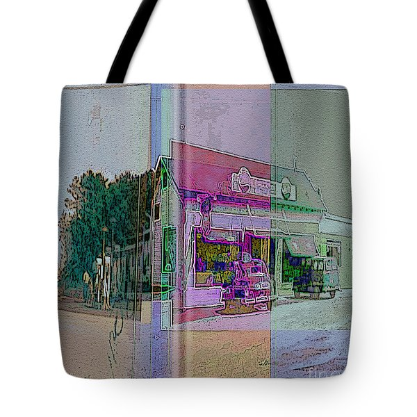 The Cracker Barrel Tote Bag by Donald Maier