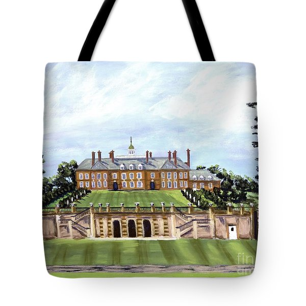 The Crane Castle Tote Bag