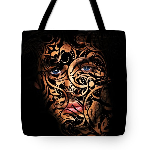 The Creation Of Man Tote Bag