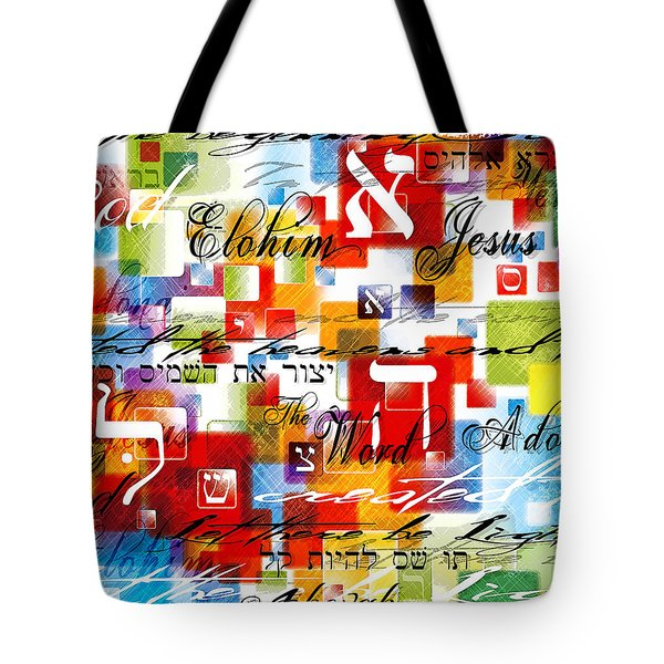 The Creator Tote Bag by Gary Bodnar