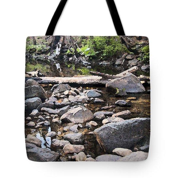 The Creek Tote Bag
