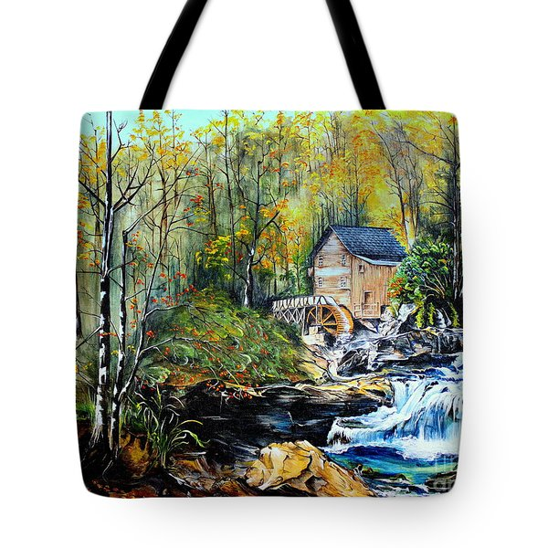 Glade Creek Tote Bag