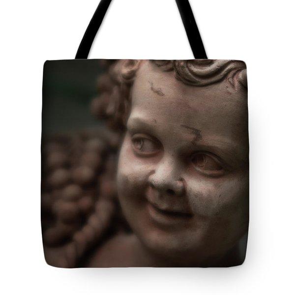 The Creepy Statue Tote Bag