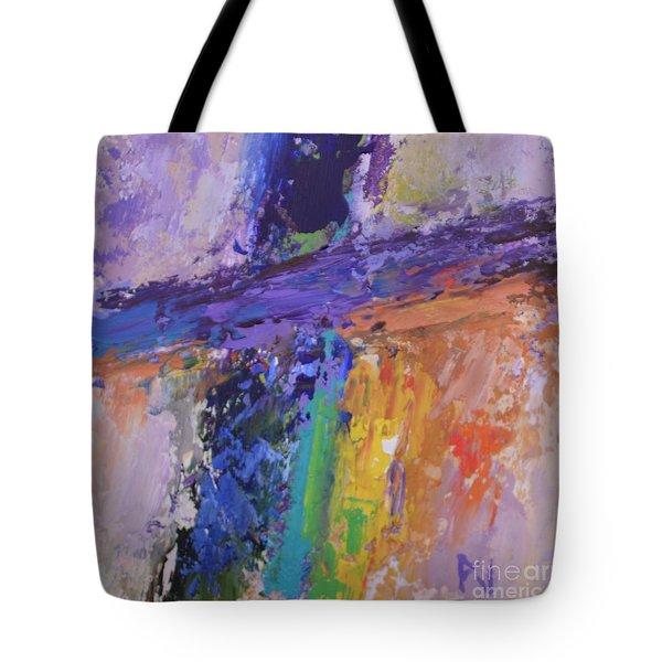 The Cross And The Glory Tote Bag