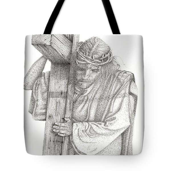 The Cross Tote Bag by Mayhem Mediums