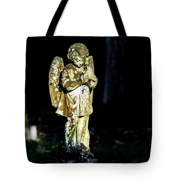 The Cross Neckless  Tote Bag