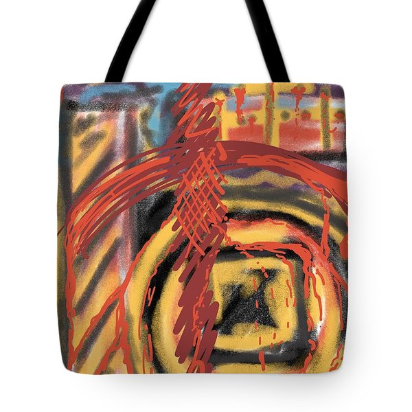The Cross Over Tote Bag