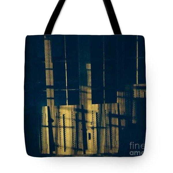 The Crosses Tote Bag