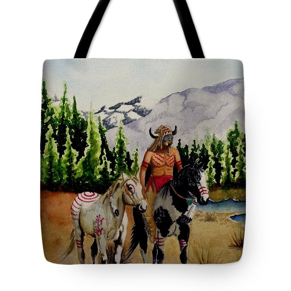 The Crossing Tote Bag by Jimmy Smith