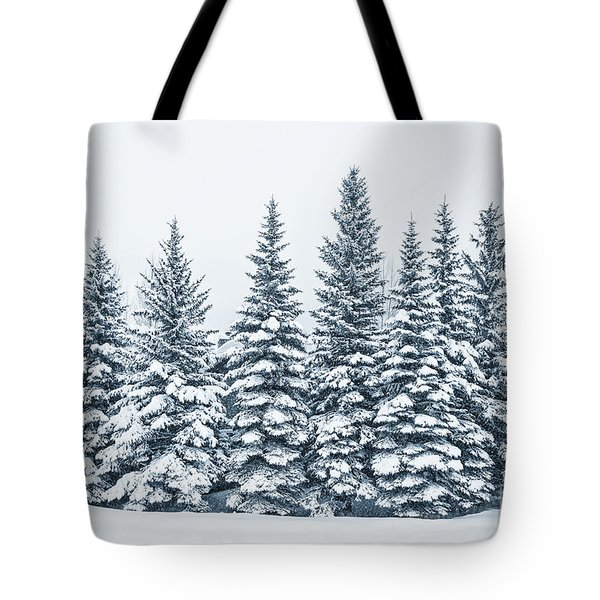The Crown Of Winter Tote Bag