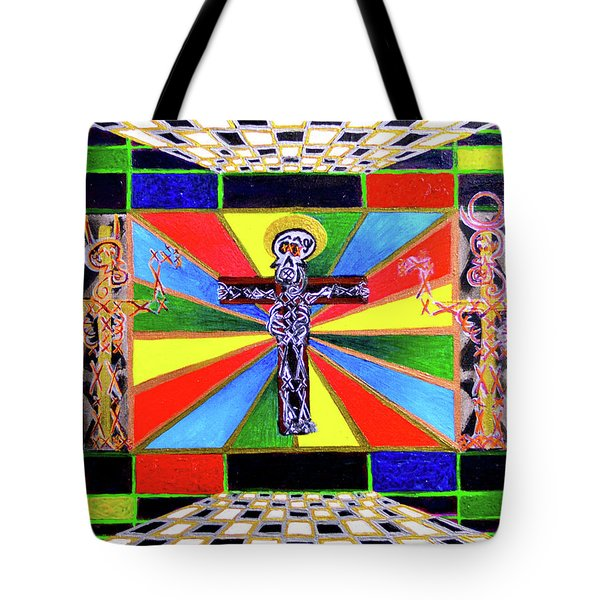The Crucifffictiooon - Paradisi Gloooria Tote Bag