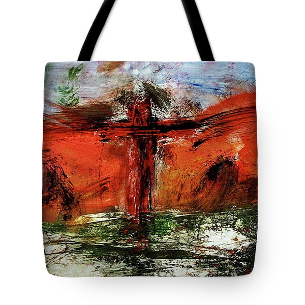 The Crucifixion #1 Tote Bag